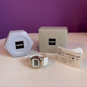 G Shock GM S5600 Full Metal Gold White Watch